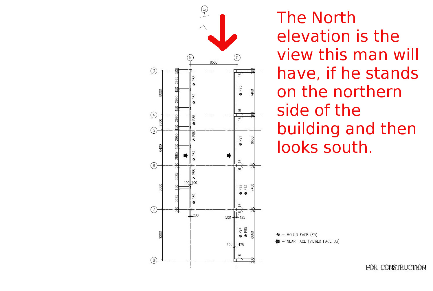 N Home Plan And Elevation : What is a north elevation east and west elevations