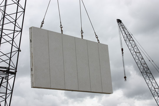 Precast Stone Panels : The signficance of quot mould face in precast panel