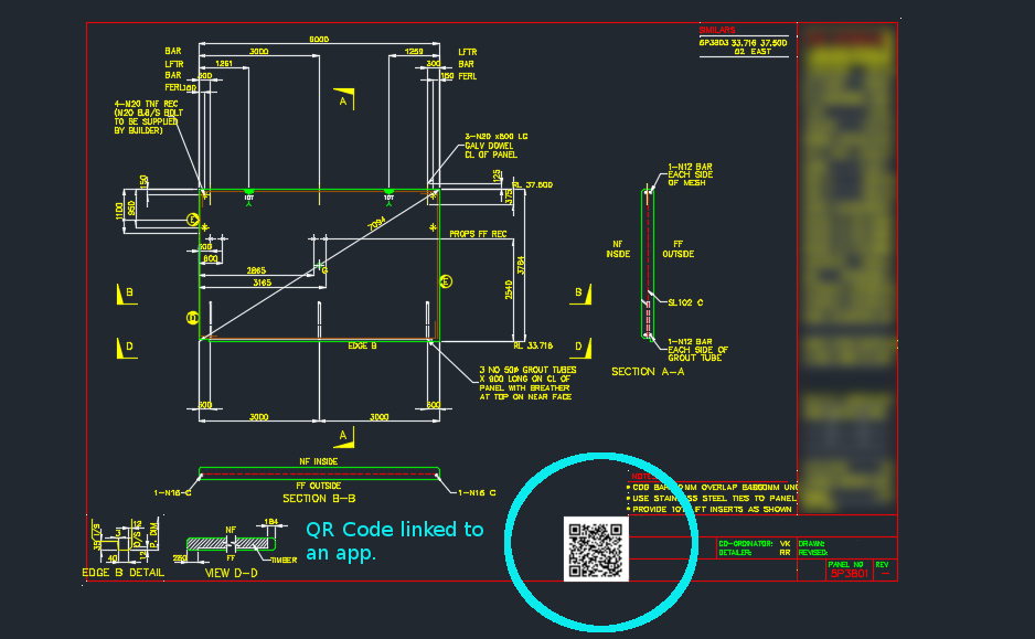 Tek1 Adds Qr Codes To Drawings Backed By An App On The Cloud Steel Detailing And Drafting Services